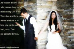 Wait for the man of God ! Ladies the one he will lead you to him not lead you astray! #Christian #Quotes #Love