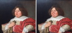 <p>A Dutch painting gets a cheerful makeover (SWNS) </p>