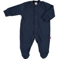 Limobasics - Pyjama naissance en coton bio - marine