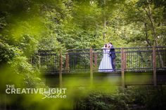 Sharon Woods has gorgeous trees and neat bridges.