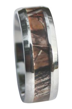Working Man's Woodland Camo Ring!