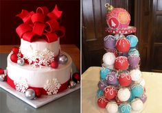 Stílusosan ehető gömbös dekorációt is kérhetsz a tortára.