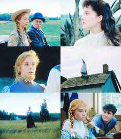 Anne of Green Gables - one of my favorite movies ever! Jonathan Crombie, Megan Follows, Tomorrow Is A New Day, Gilbert Blythe, Kino Film, Anne Shirley, Book Tv, Romantic Movies, Cinema