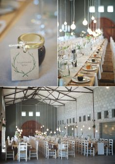 Hanging lights wedding decor at Glenbrae in Elgin, image by Somerset West based Wedding and Lifestyle Photographer Michelle Joubert-Martin