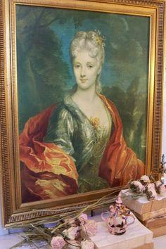 Large framed print of Mlle DuBois print on by AnitaSperoDesign, $125.00
