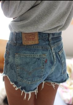 Not a huge fan of high waisted shorts but these are so cute