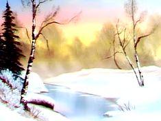 Winter Stillness - The Joy of Painting S5E4
