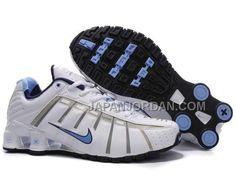 newest e7929 4b911 www.japanjordan.com  新着 NIKE SHOX NZ O LEVEN WOMENS 白 青 · Chaussures  ÉtéChaussure ...