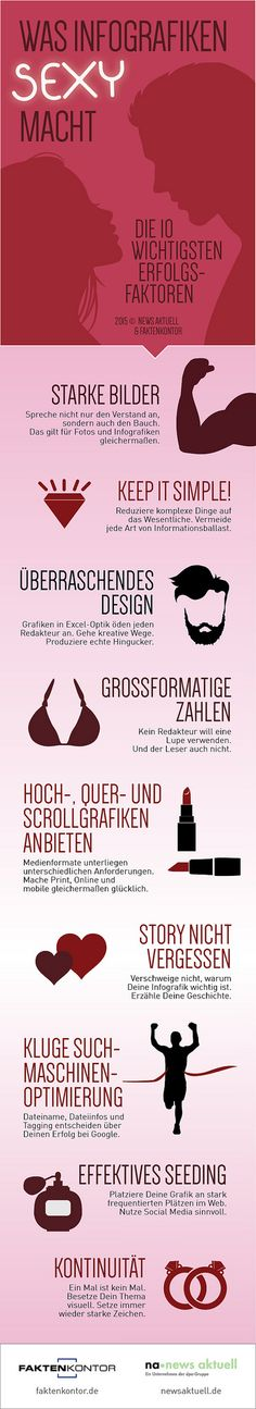 How should I create infographics? 10 helpful remarks and practical tips – in German - by news aktuell and Faktenkontor #infografik #infographics