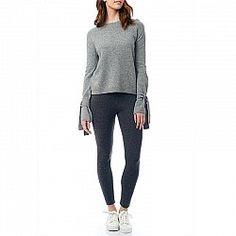 Brown Allen Tie Sleeve Sweater Envy 680eea34c