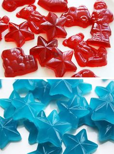 How to Make Gummi Candies at Home #stepbystep