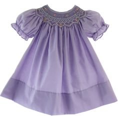Hiccups Childrens Boutique - Girls Purple Smocked Bishop Dress Rosalina, $39.00 (http://www.hiccupschildrensboutique.com/girls-purple-smocked-bishop-dress-rosalina/)