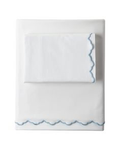 Scallop Embroidered Sheet SetScallop Embroidered Sheet Set