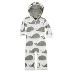aed802a9e2b Milk Barn Whale Hooded Romper at Black Wagon Hoods