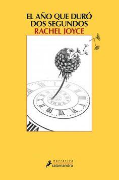 """Leyre Segura Azkune reseña """"El año que duró dos segundos"""", de Rachel Joyce. """"Una novela adictiva que se adentra en los rincones más íntimos de la mente humana"""". http://www.mardetinta.com/libro/el-ano-que-duro-dos-segundos/ ED. SALAMANDRA"""