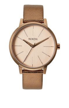The Kensington Leather - Rose Gold Shimmer | Nixon