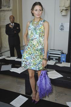 Olivia Palermo - Pretty Summer #Chic. Feels light and fresh! Love this look! #fashion