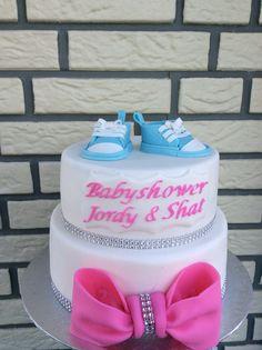 Babyshower Cake Shoes