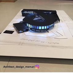 Wonderful teenage girl bedroom ideas in blue for your cozy home Maquette Architecture, Concept Models Architecture, Conceptual Architecture, Architecture Concept Drawings, Architecture Student, Facade Architecture, Building Design, Lesson Quotes, Esports