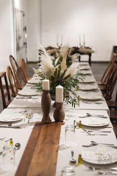 33 Best Floral Wedding Centerpieces Ever! Outdoor Wedding Centerpieces, Candle Centerpieces, Long Table Wedding, Tent Wedding, Bodas Boho Chic, Floral Wedding, Table Decorations, Wedding Decorations, Beauty