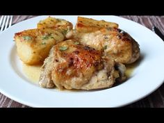 Greek Lemon Chicken and Potatoes – Both Homers Would Love This | Food Wishes Video Recipes | Bloglovin'