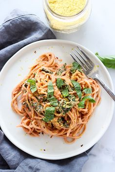 Pasta with Creamy Ve