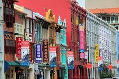 Mosque Street (Rua da Mesquita), em Chinatown - Singapore http://fuievouvoltar.com