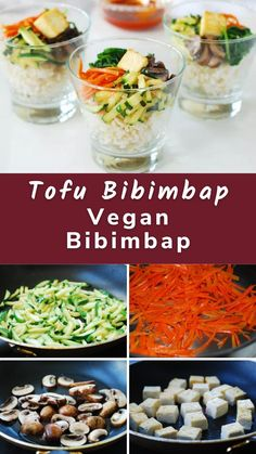 You can make this vegan bibimbap without a trip to a Korean market. This simple bibimbap recipe uses vegetables you can find in your local grocery stores.