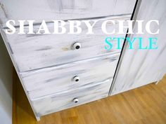 DIY Anleitung ✘ Schrank im Shabby Shic Style streichen ✘ Schritt für Schritt - YouTube