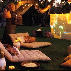 Backyard movie anyone??