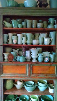 Windmill Farm: McCoy-Weller-USA Pottery Vases