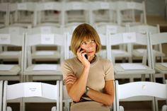 FAshion Quotes. Анна Винтур, главный редактор Vogue