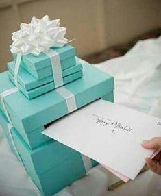 #Tiffany Blue Wedding ... Tiffany theme solemnization setting