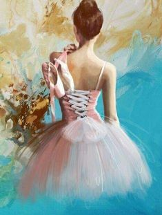 Choose your favorite ballet dancer paintings from millions of available designs. All ballet dancer paintings ship within 48 hours and include a money-back guarantee. Art Ballet, Ballerina Painting, Ballet Dancers, Ballerina Drawing, Ballerina Project, Ballet Class, Ballerina Kunst, Vintage Ballerina, Back Art