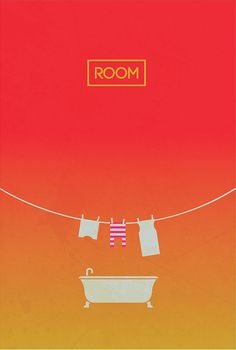 Room (2015) ~ Minimal Movie Poster by gOrange ~ Oscars 2016 Nominees #amusementphile