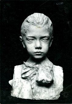 Pietro Canonica  - Bambino sordomuto, Scultura, 1905, Gesso patinato a bronzo