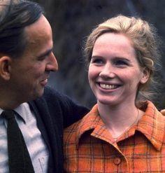Liv Ullman and Ingmar Bergman