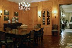 Casa Alva | one of the paneled rooms at the one-time Palm Beach area residence of Consuelo Vanderbilt Balsan and her husband Col. Jacques Balsan.