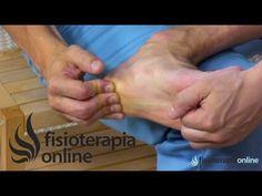 Auto-masaje de la fascia plantar para Tratamiento de la fascitis plantar - YouTube