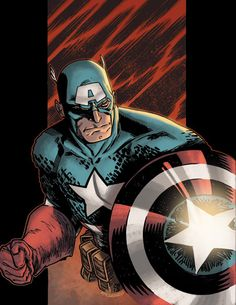 Captain America by Cory Smith Marvel Comics, Marvel Art, Marvel Heroes, Marvel Characters, Book Characters, Capitan America Marvel, Marvel Captain America, Comic Book Superheroes, Comic Books Art