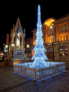 Maidstone Christmas Lights, Kent, England
