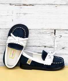 Take a look at this Navy Blue Cambridge Loafer	 by foxpaws on #zulily today!