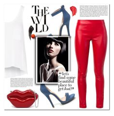 """""""The Wild"""" by christinacastro830 ❤ liked on Polyvore featuring Each X Other, rag & bone, Ash and Haze"""