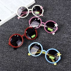 Apparel Accessories Hot Sale 2019 New Arrived Sun Flower Round Cute Kids Sunglasses Uv400 For Boy Girls Lovely Baby Sun Glasses Children Oculos De Sol Volume Large