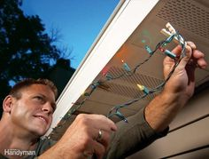 Untangling holiday lights and climbing ladders doesn't exactly fill you with holiday cheer. But, these holiday lights tips will make it easier.
