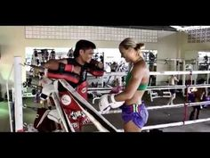 ▶ Caley Reece Training Highlights | kick boxing muai thai