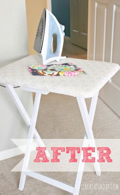 space saver | diy small ironing table