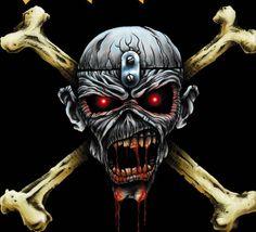 Iron Maiden Eddie the Head   ... muy poco vistas de Eddie The Head (Iron Maiden) - Metal Unleashed