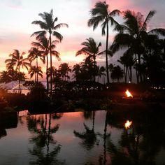 Montage Kapalua Bay Kapalua Bay, Best Hotels, Hawaii, Wanderlust, Memories, River, Celestial, Sunset, Outdoor