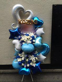 Balloon Flowers, Balloon Decorations, Hanukkah, Balloons, Wreaths, Home Decor, Globes, Decoration Home, Door Wreaths